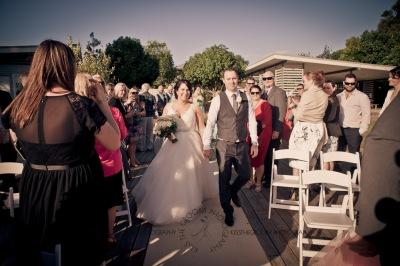 kingscliff bowls club boat shed wedding sarah joe kiss the groom photography-2-2
