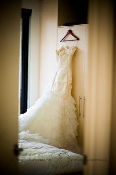 sanctuary cove hope island wedding samantha paul kiss the groom photography-0005