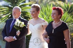 sanctuary cove hope island wedding samantha paul kiss the groom photography-0090