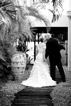 sanctuary cove hope island wedding samantha paul kiss the groom photography-0262