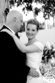 sanctuary cove hope island wedding samantha paul kiss the groom photography-0357