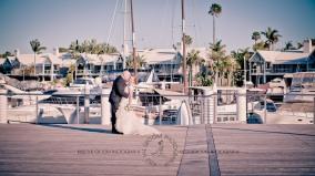 sanctuary cove hope island wedding samantha paul kiss the groom photography-0390