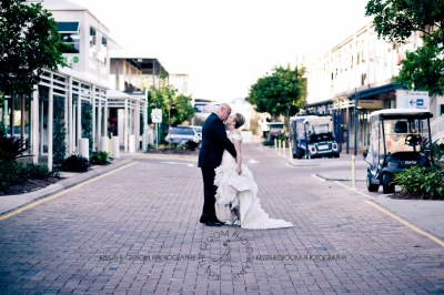 sanctuary cove hope island wedding samantha paul kiss the groom photography-0410