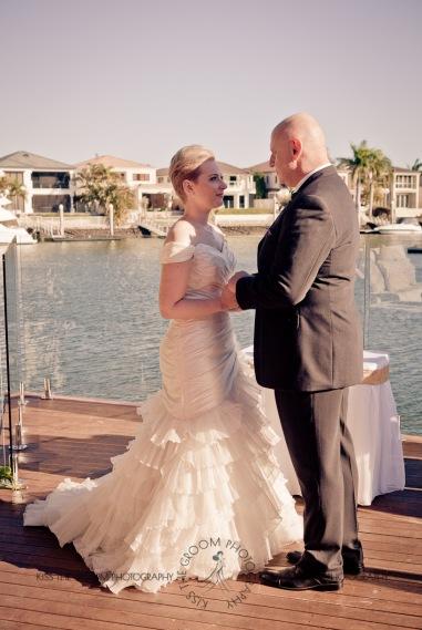 sanctuary cove hope island wedding samantha paul kiss the groom photography-2-2