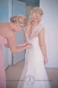 north burleigh beach caroline luke wedding kiss the groom gold coast photography-0275