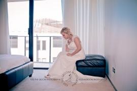 north burleigh beach caroline luke wedding kiss the groom gold coast photography-0345