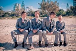 north burleigh beach caroline luke wedding kiss the groom gold coast photography-0527