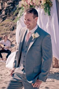 north burleigh beach caroline luke wedding kiss the groom gold coast photography-0539