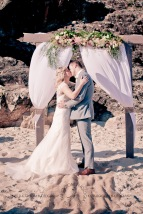 north burleigh beach caroline luke wedding kiss the groom gold coast photography-0765