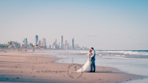 north burleigh beach caroline luke wedding kiss the groom gold coast photography-1004