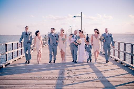 woodys point sutton beach wedding emma jordan kiss the groom photography-0579