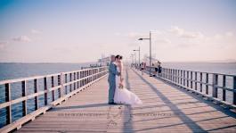 woodys point sutton beach wedding emma jordan kiss the groom photography-0616