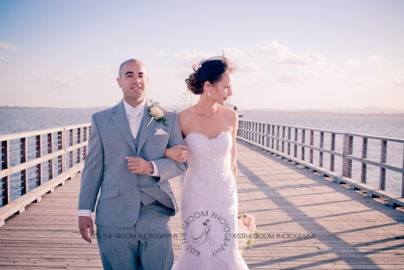woodys point sutton beach wedding emma jordan kiss the groom photography-0626