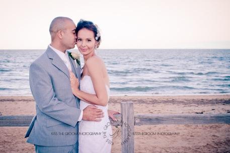 woodys point sutton beach wedding emma jordan kiss the groom photography-0740