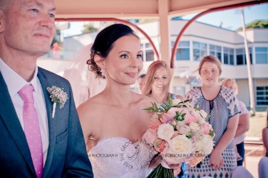 woodys point suttons beach emma jordan wedding kiss the groom photography-0330