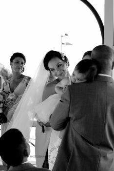 woodys point suttons beach emma jordan wedding kiss the groom photography-0337