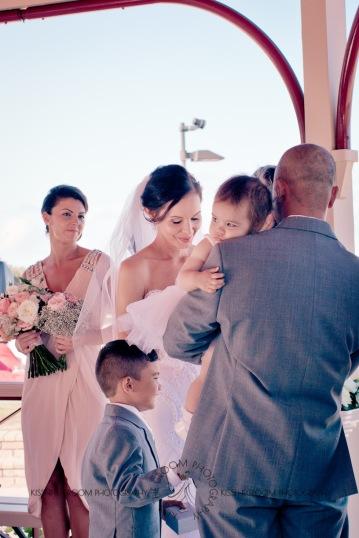 woodys point suttons beach emma jordan wedding kiss the groom photography-0371