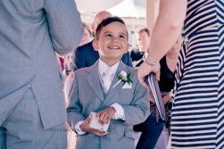 woodys point suttons beach emma jordan wedding kiss the groom photography-0379