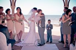 woodys point suttons beach emma jordan wedding kiss the groom photography-0392