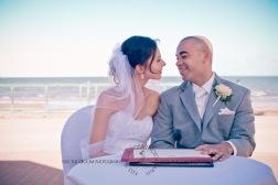 woodys point suttons beach emma jordan wedding kiss the groom photography-0418
