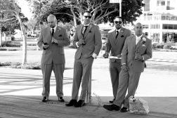 woodys point suttons beach emma jordan wedding kiss the groom photography-0542