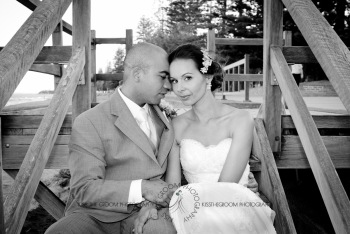 woodys point suttons beach emma jordan wedding kiss the groom photography-0705