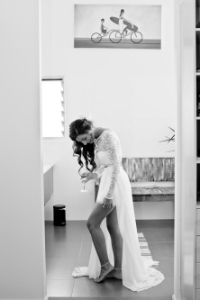 casuarine beach wedding barry cat kiss the groom gold coast wedding photographer-0149