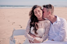 casuarine beach wedding barry cat kiss the groom gold coast wedding photographer-0504