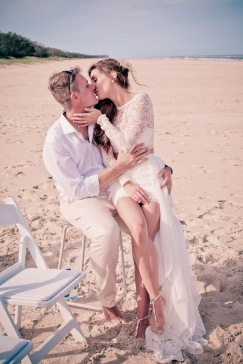 casuarine beach wedding barry cat kiss the groom gold coast wedding photographer-0581