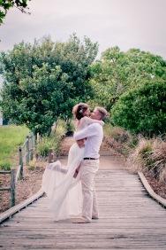 casuarine beach wedding barry cat kiss the groom gold coast wedding photographer-0908