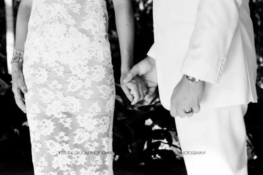 cedar creek lodges trina steve wedding kiss the groom mt tamborine wedding photographer-0443