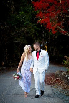 cedar creek lodges trina steve wedding kiss the groom mt tamborine wedding photographer-0653