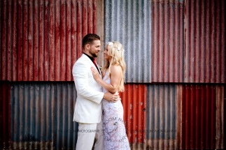 cedar creek lodges trina steve wedding kiss the groom mt tamborine wedding photographer-0698
