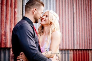 cedar creek lodges trina steve wedding kiss the groom mt tamborine wedding photographer-0726