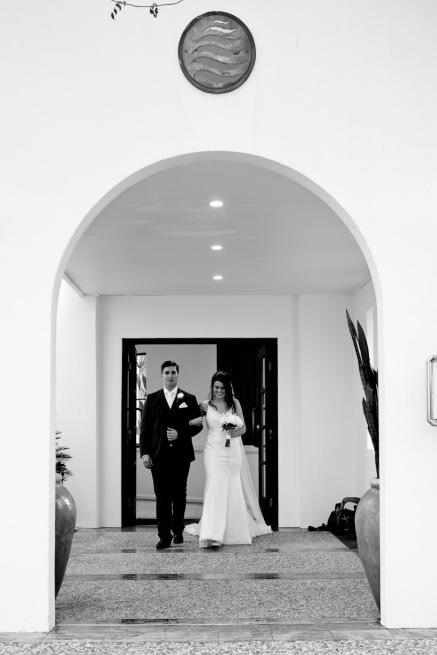 racv royal pines wedding shannon matt kiss the groom gold coast wedding photographer-0622