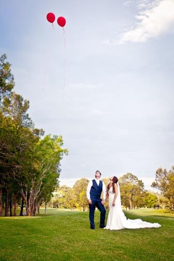 racv royal pines wedding shannon matt kiss the groom gold coast wedding photographer-0701