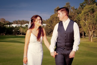 racv royal pines wedding shannon matt kiss the groom gold coast wedding photographer-0754