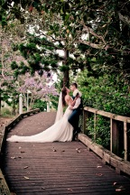 racv royal pines wedding shannon matt kiss the groom gold coast wedding photographer-0852