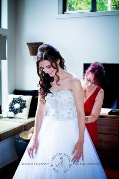 st bernards mt tamborine nikita james wedding kiss the groom mt tamborine wedding photographer-0178