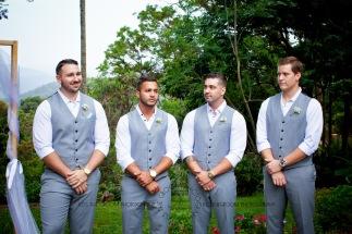 st bernards mt tamborine nikita james wedding kiss the groom mt tamborine wedding photographer-0372