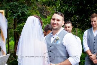 st bernards mt tamborine nikita james wedding kiss the groom mt tamborine wedding photographer-0419