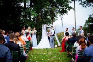 st bernards mt tamborine nikita james wedding kiss the groom mt tamborine wedding photographer-0422