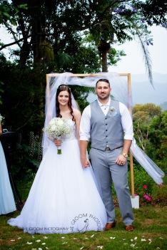 st bernards mt tamborine nikita james wedding kiss the groom mt tamborine wedding photographer-0521