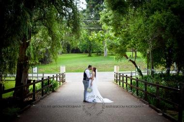 st bernards mt tamborine nikita james wedding kiss the groom mt tamborine wedding photographer-0678