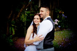 st bernards mt tamborine nikita james wedding kiss the groom mt tamborine wedding photographer-0769