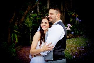 st bernards mt tamborine nikita james wedding kiss the groom mt tamborine wedding photographer-0769