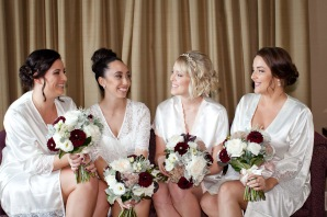 stamford plaza brisbane wedding tiane alex kiss the groom photography-0273