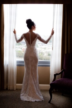 stamford plaza brisbane wedding tiane alex kiss the groom photography-0366