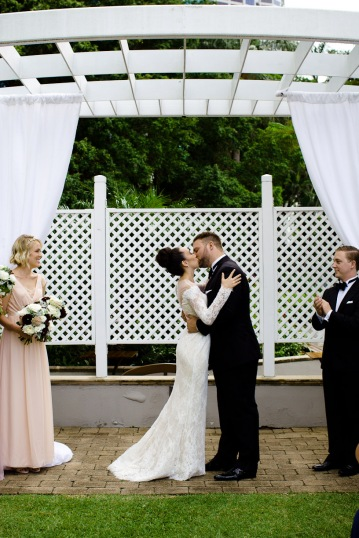 stamford plaza brisbane wedding tiane alex kiss the groom photography-0518