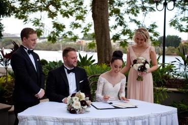 stamford plaza brisbane wedding tiane alex kiss the groom photography-0537